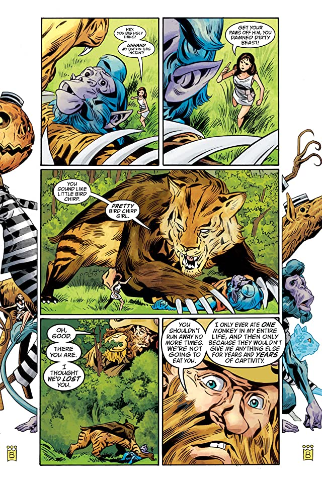 click for super-sized previews of Fables #110