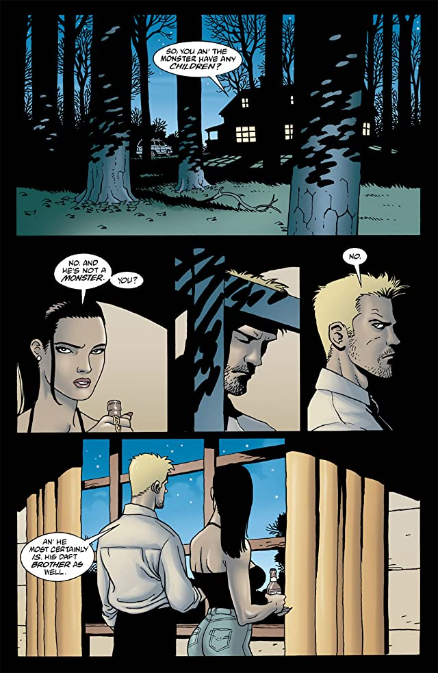 click for super-sized previews of Hellblazer #154