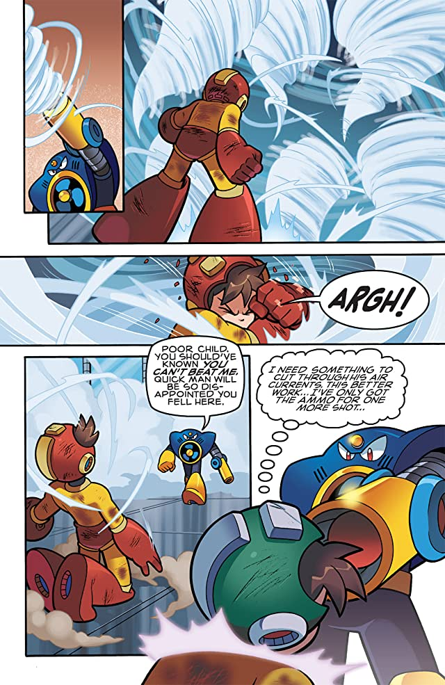 click for super-sized previews of Mega Man #11