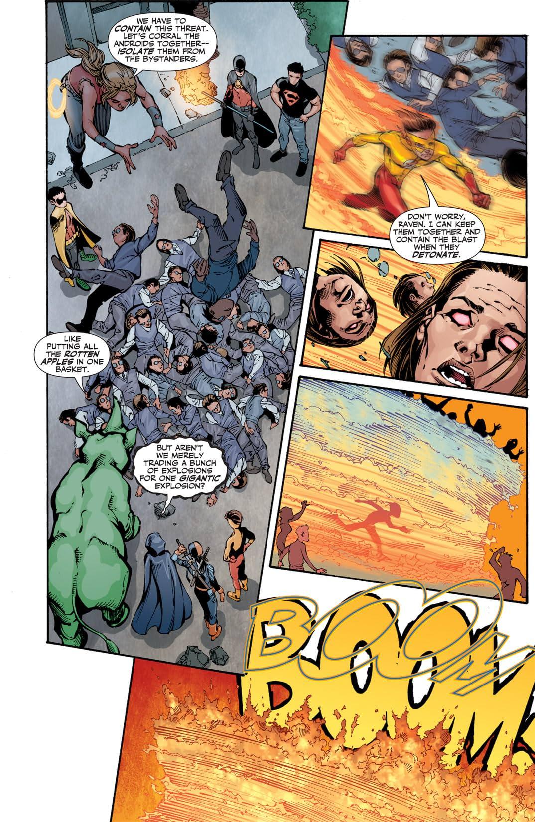 Teen Titans (2003-2011) #92