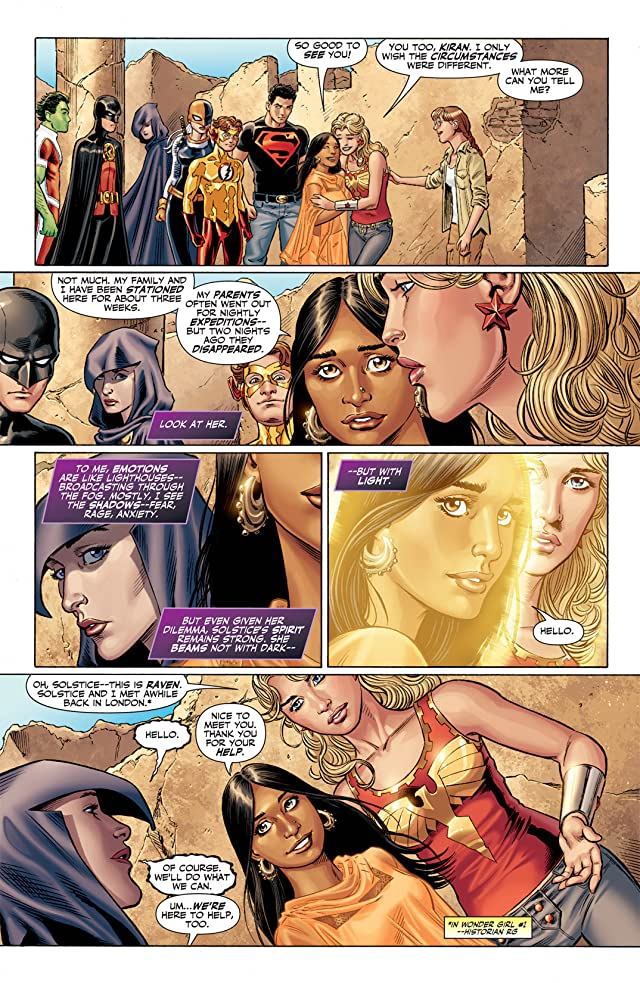 click for super-sized previews of Teen Titans (2003-2011) #93