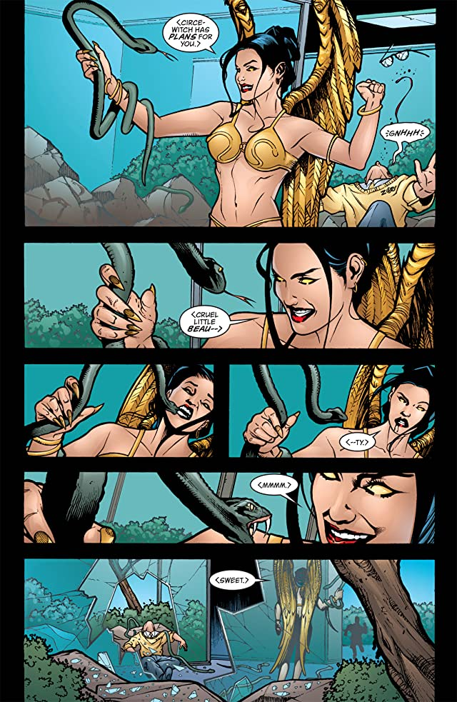 click for super-sized previews of Wonder Woman (1987-2006) #203