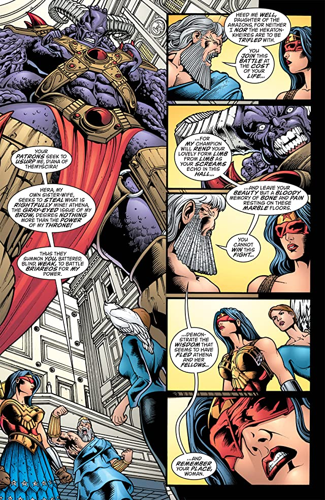 click for super-sized previews of Wonder Woman (1987-2006) #213