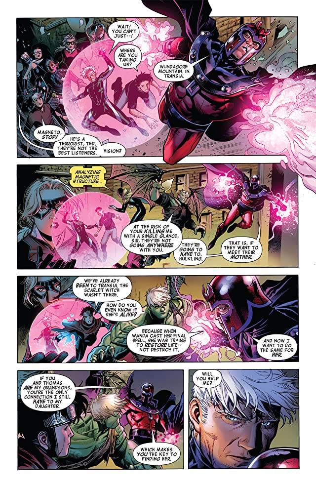 click for super-sized previews of Avengers: The Children's Crusade #2