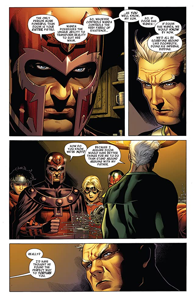 click for super-sized previews of Avengers: The Children's Crusade #3