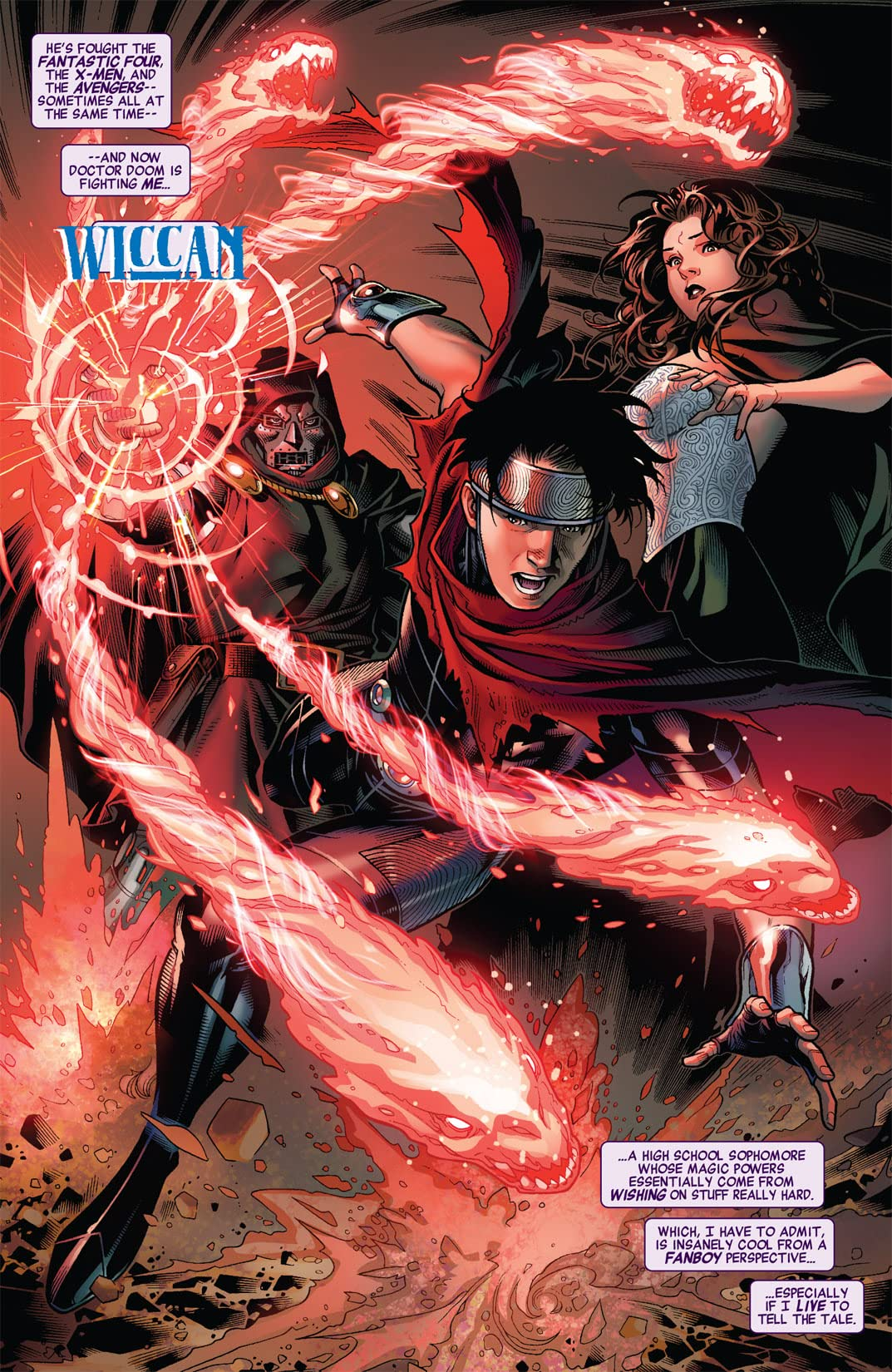 Avengers: The Children's Crusade #4 (of 9)