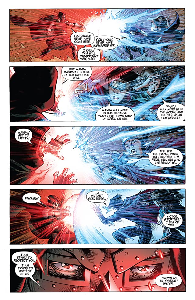 click for super-sized previews of Avengers: The Children's Crusade #4