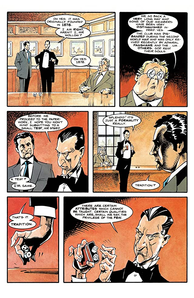 click for super-sized previews of Steed and Mrs. Peel #3