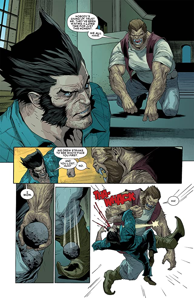 click for super-sized previews of Wolverine (2010-2012) #10