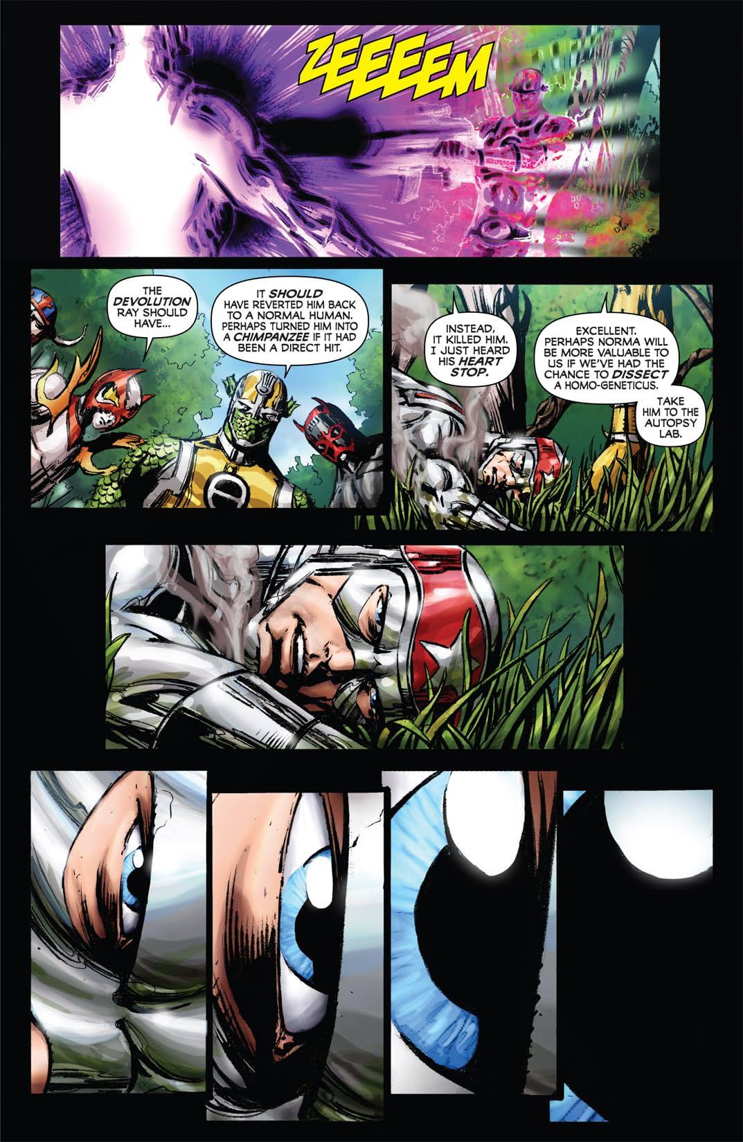 Kirby: Genesis - Silver Star #3