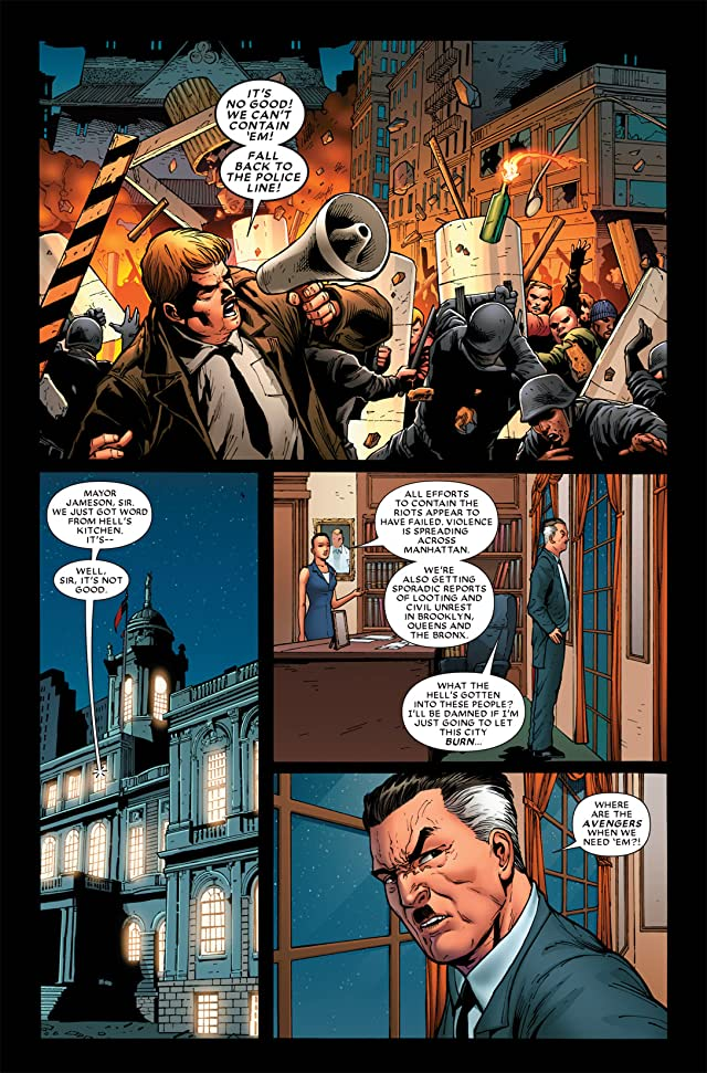 click for super-sized previews of Shadowland #5