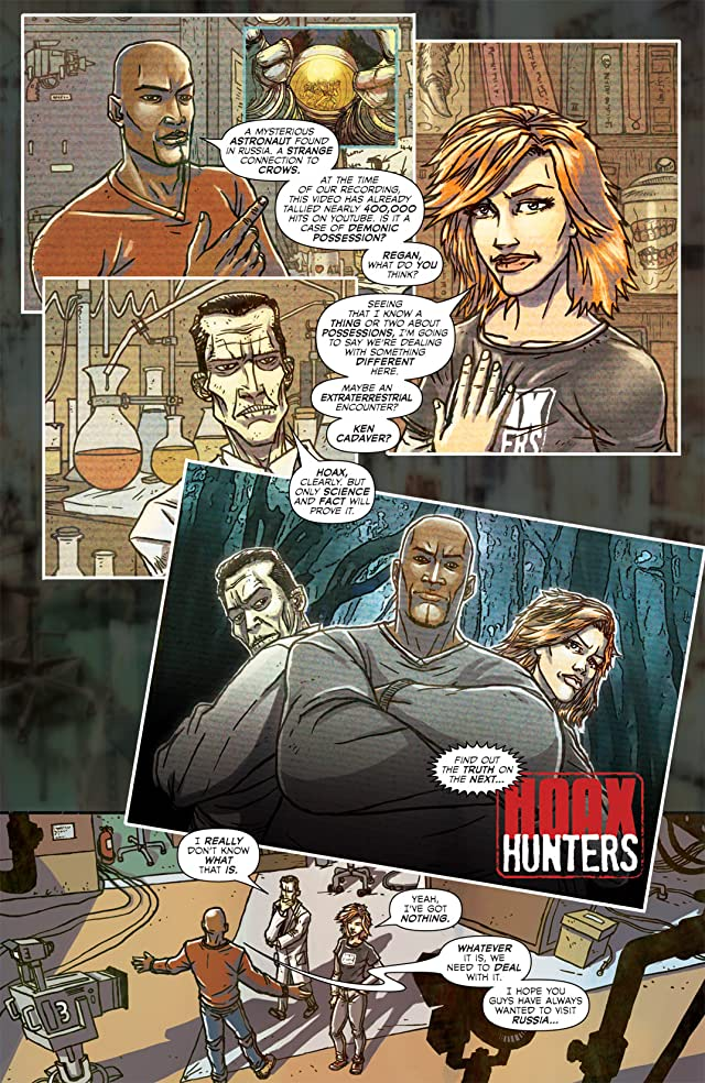 click for super-sized previews of Hoax Hunters #0