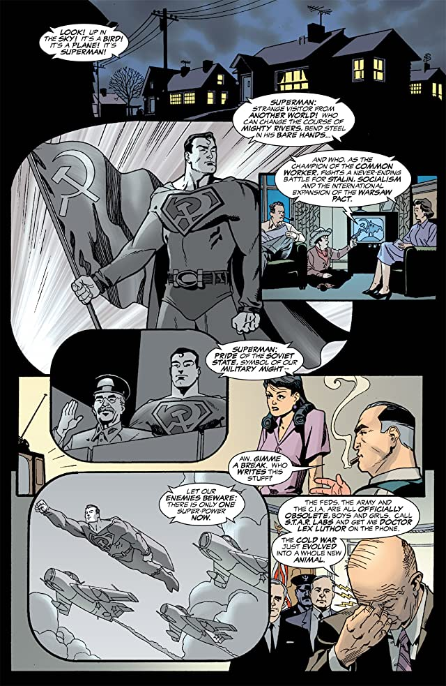 click for super-sized previews of Superman: Red Son #1 (of 3)