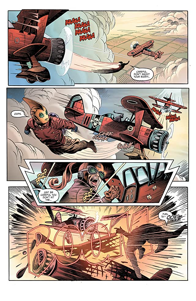 click for super-sized previews of Rocketeer Adventures 2 #1