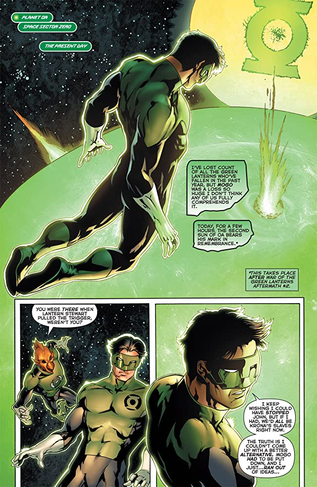 Green Lantern Corps (2006-2011) #62