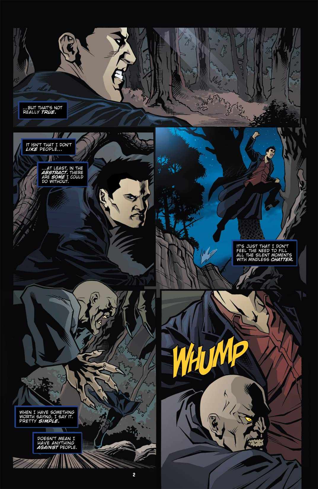 Angel: The Curse #1