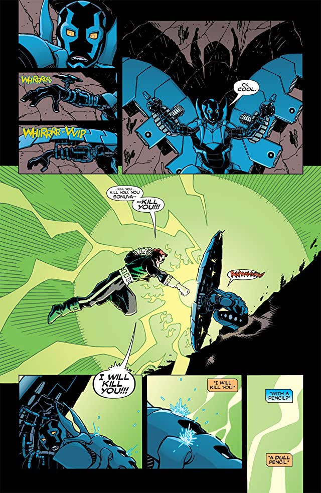 click for super-sized previews of Blue Beetle (2006-2009) #1