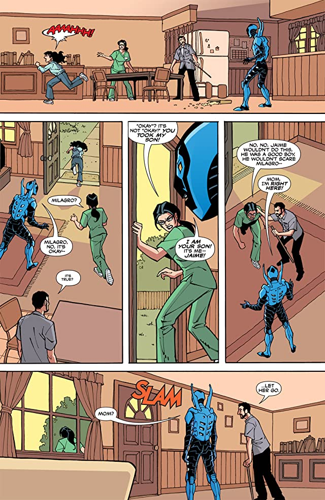 click for super-sized previews of Blue Beetle (2006-2009) #3