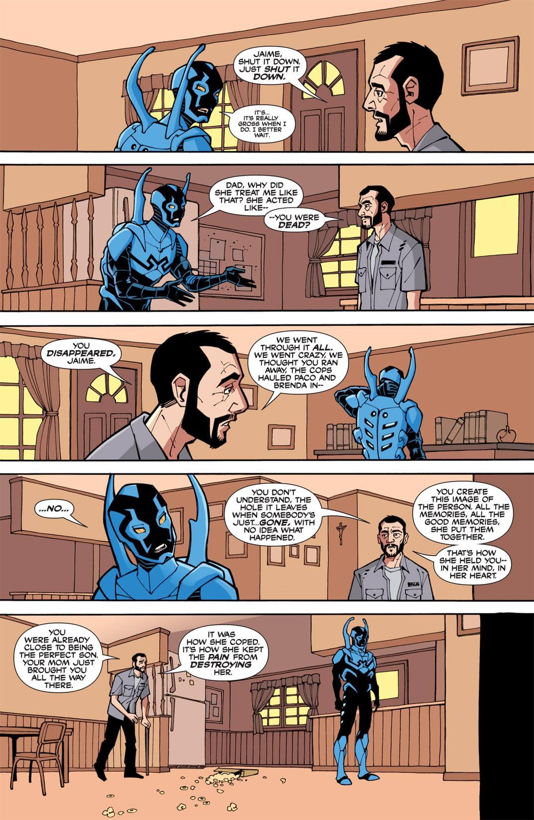 Blue Beetle (2006-2009) #3