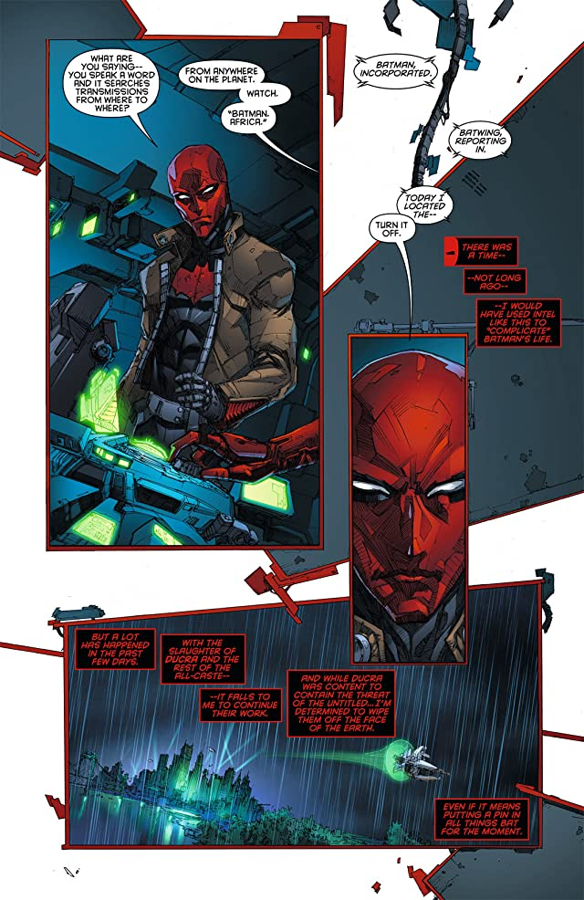 click for super-sized previews of Red Hood and the Outlaws (2011-2015) #7