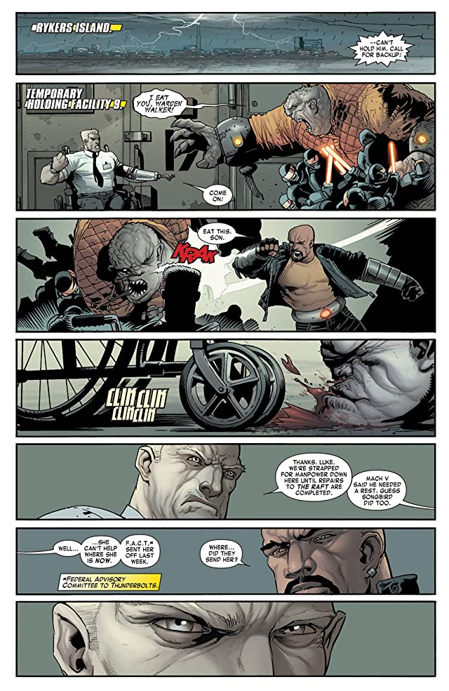 click for super-sized previews of Thunderbolts (2006-2012) #171