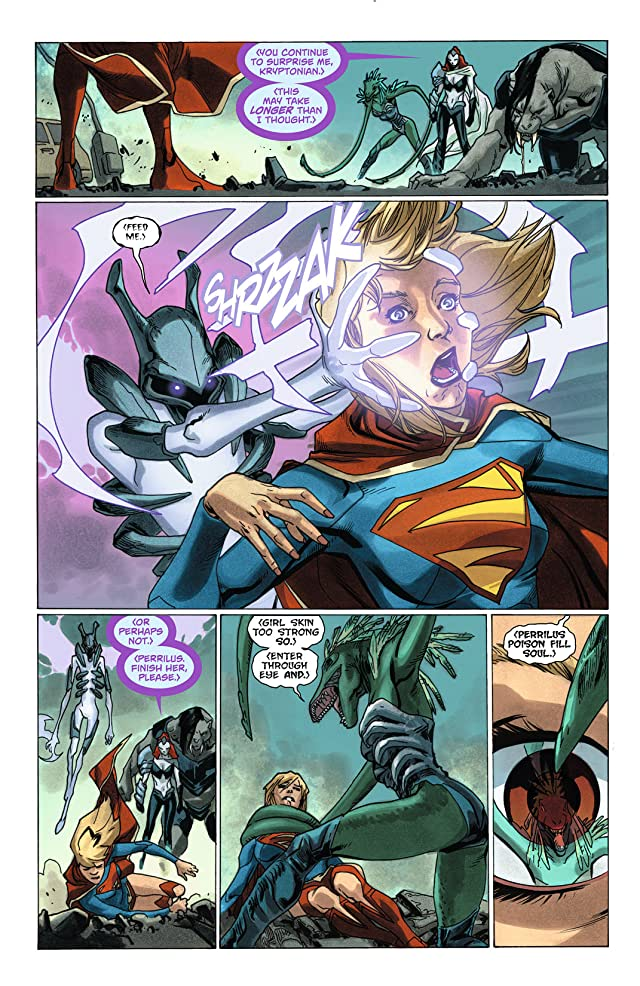 click for super-sized previews of Supergirl (2011-2015) #7