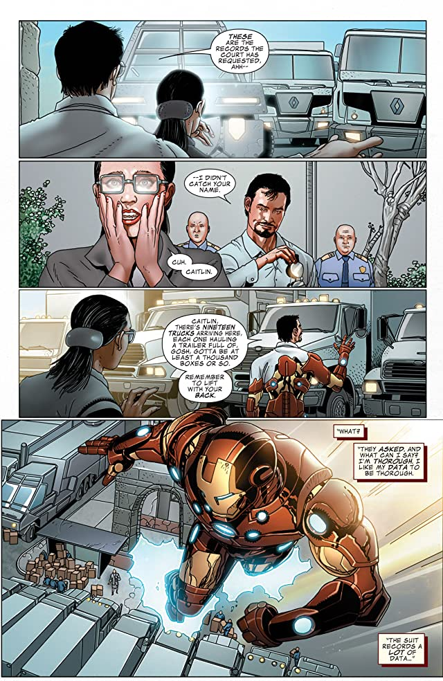 Invincible Iron Man (2008-2012) #514