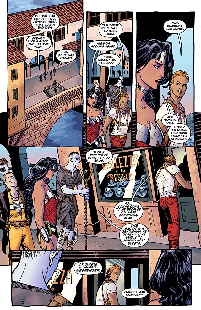 click for super-sized previews of Wonder Woman (2011-) #7