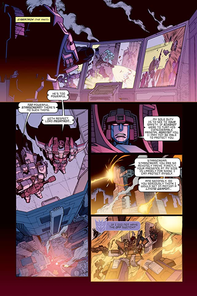 click for super-sized previews of Transformers: Devastation #5