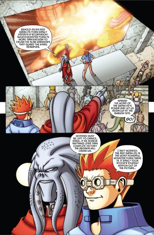 click for super-sized previews of Redakai: Conquer the Kairu #3