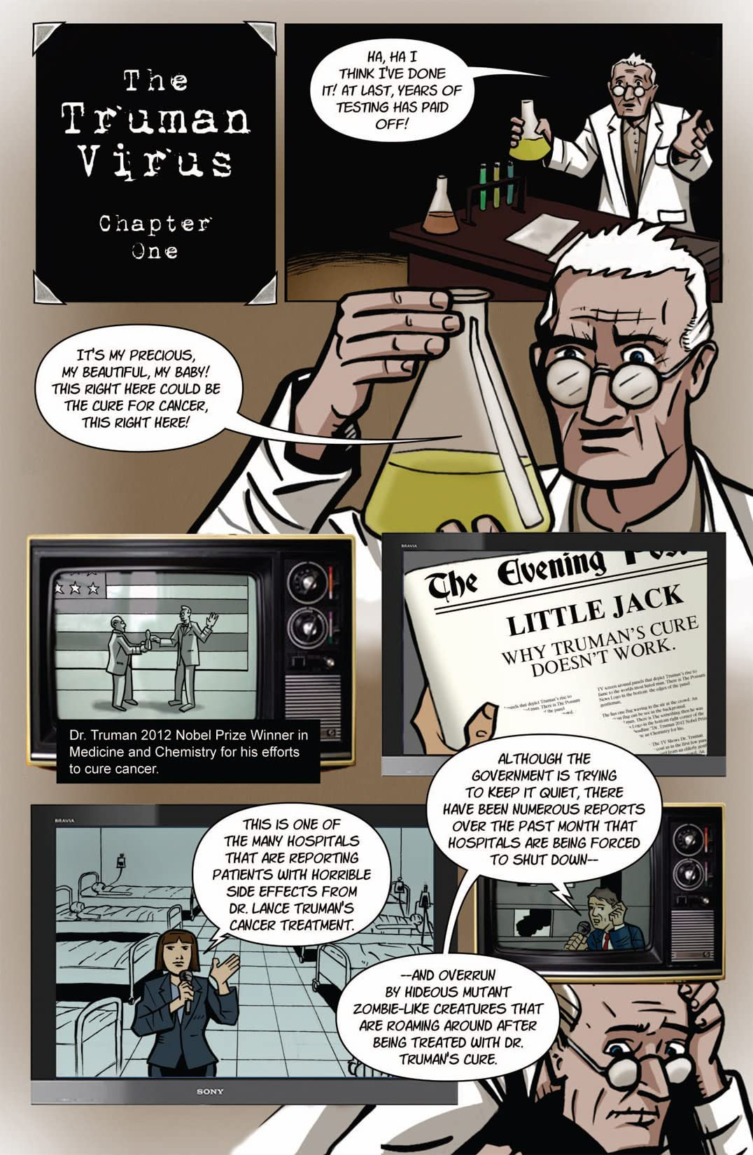 The Truman Virus: Preview