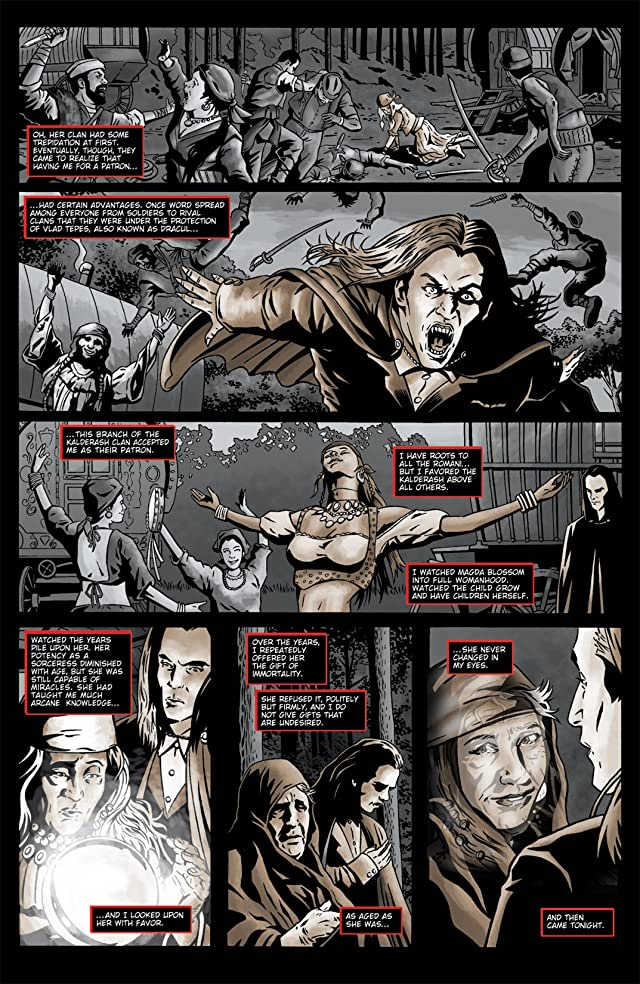 click for super-sized previews of Spike Vs. Dracula #1 (of 5)
