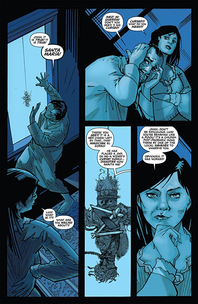 click for super-sized previews of Zorro Rides Again #9