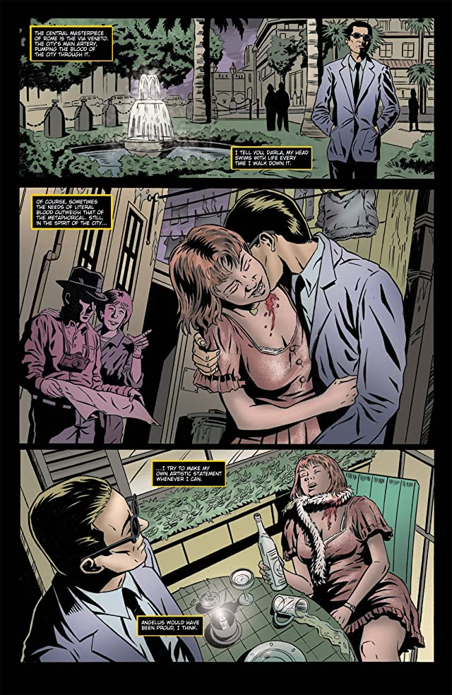 click for super-sized previews of Spike Vs. Dracula #4