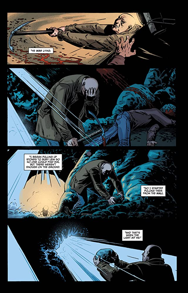 The Unknown: The Devil Made Flesh #4 (of 4)