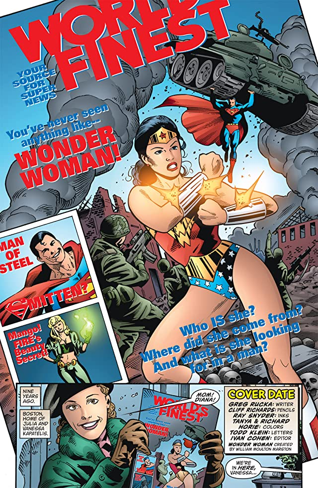 click for super-sized previews of Wonder Woman (1987-2006) #226