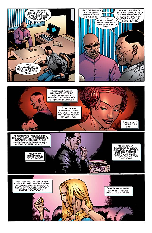 click for super-sized previews of Stormwatch: PHD #4