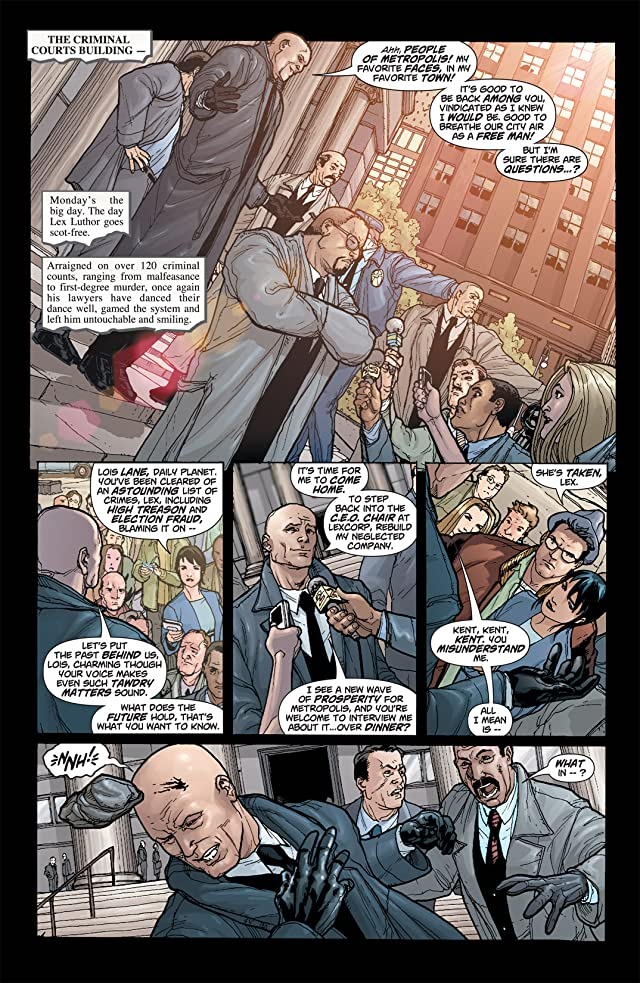 click for super-sized previews of Superman (1939-2011) #650