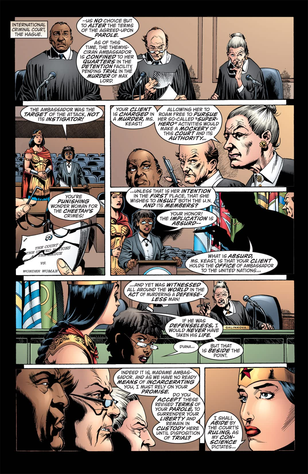 Wonder Woman (1987-2006) #223