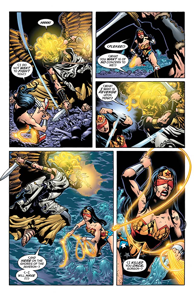 click for super-sized previews of Wonder Woman (1987-2006) #216