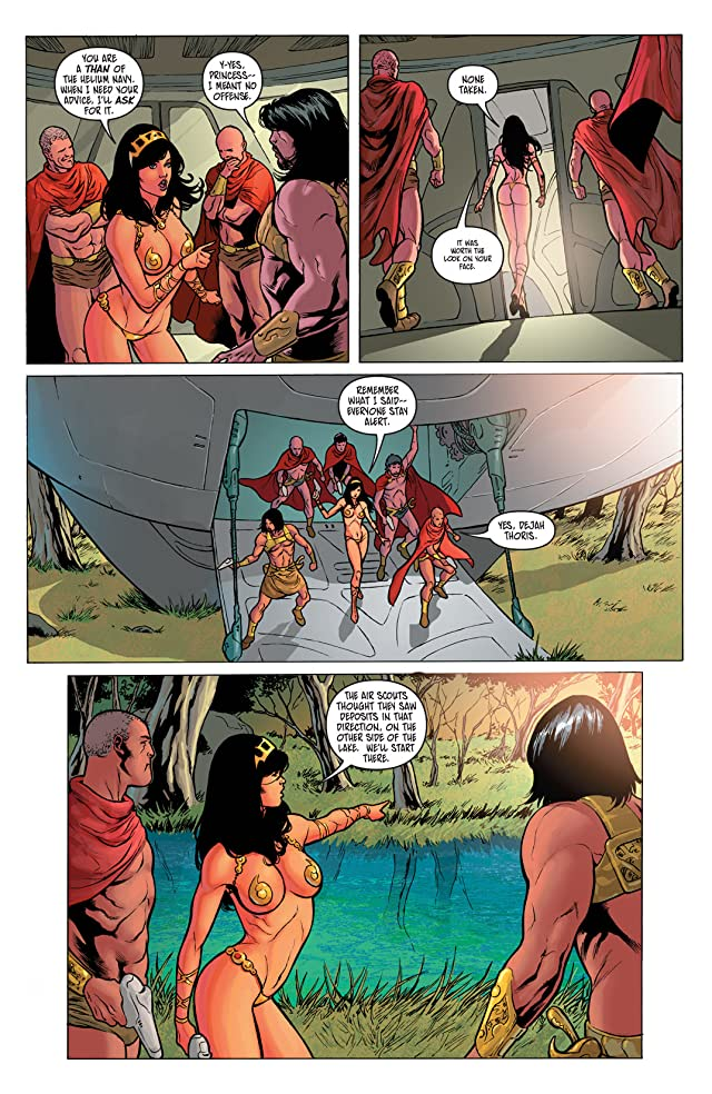 click for super-sized previews of Warlord of Mars: Dejah Thoris #11