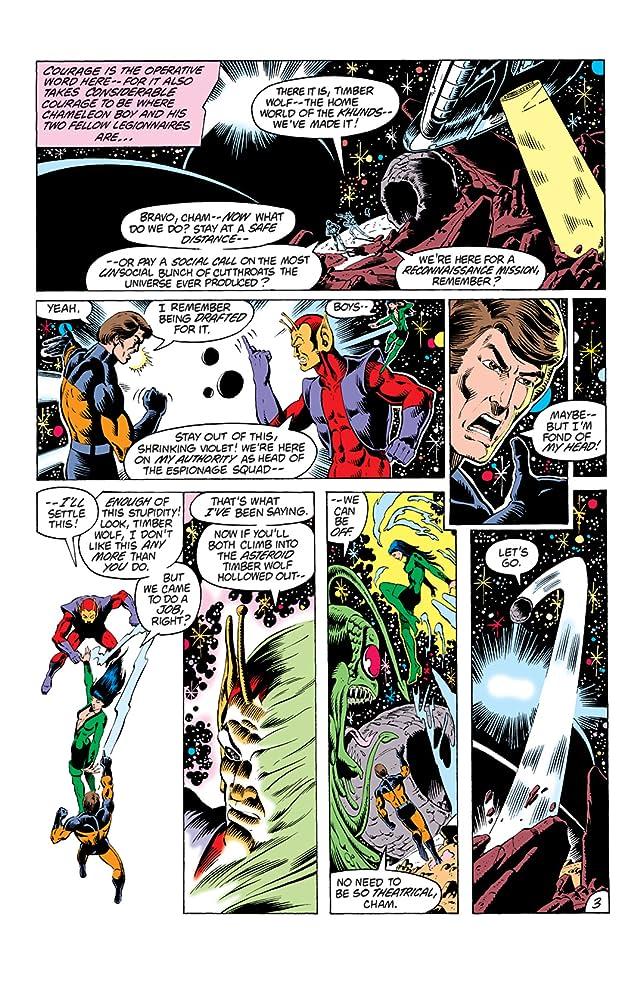 Legion of Super-Heroes (1980-1984) #287