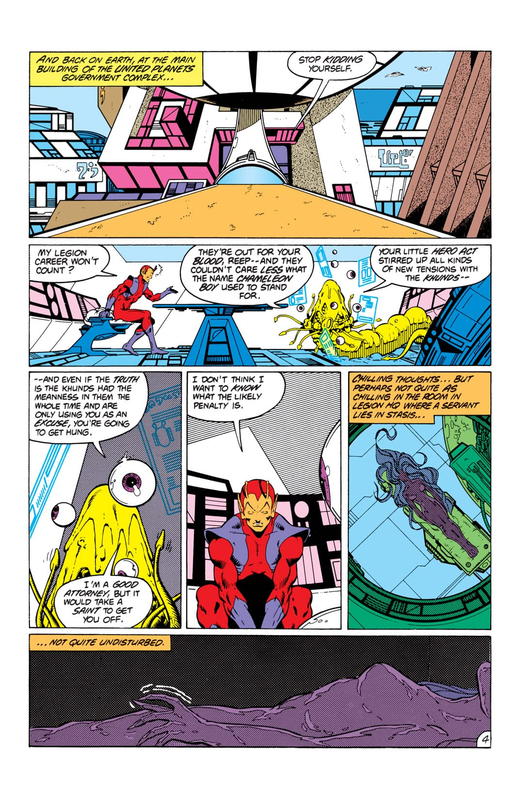 Legion of Super-Heroes (1980-1984) #291