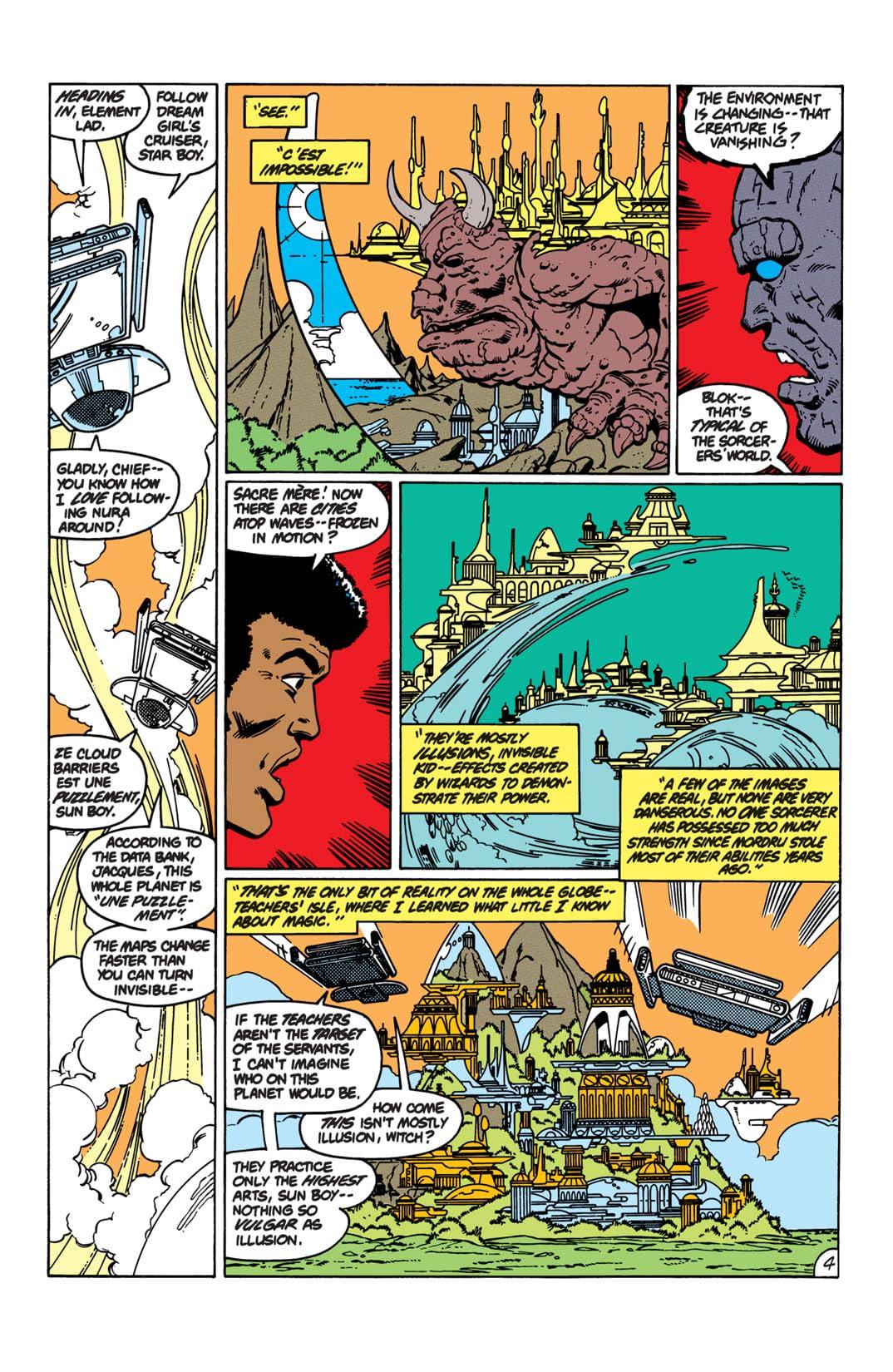 Legion of Super-Heroes (1980-1985) #292