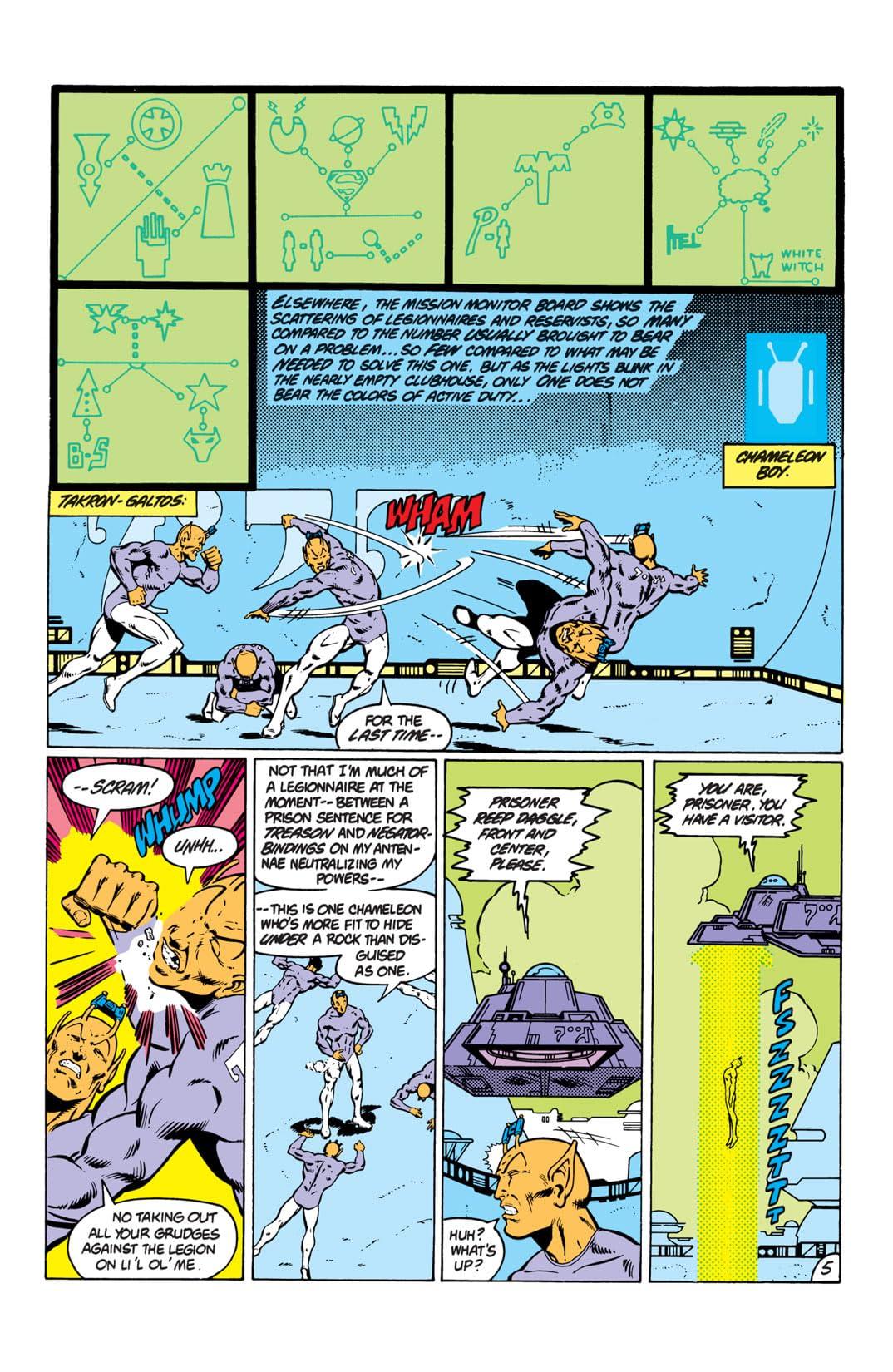 Legion of Super-Heroes (1980-1985) #293