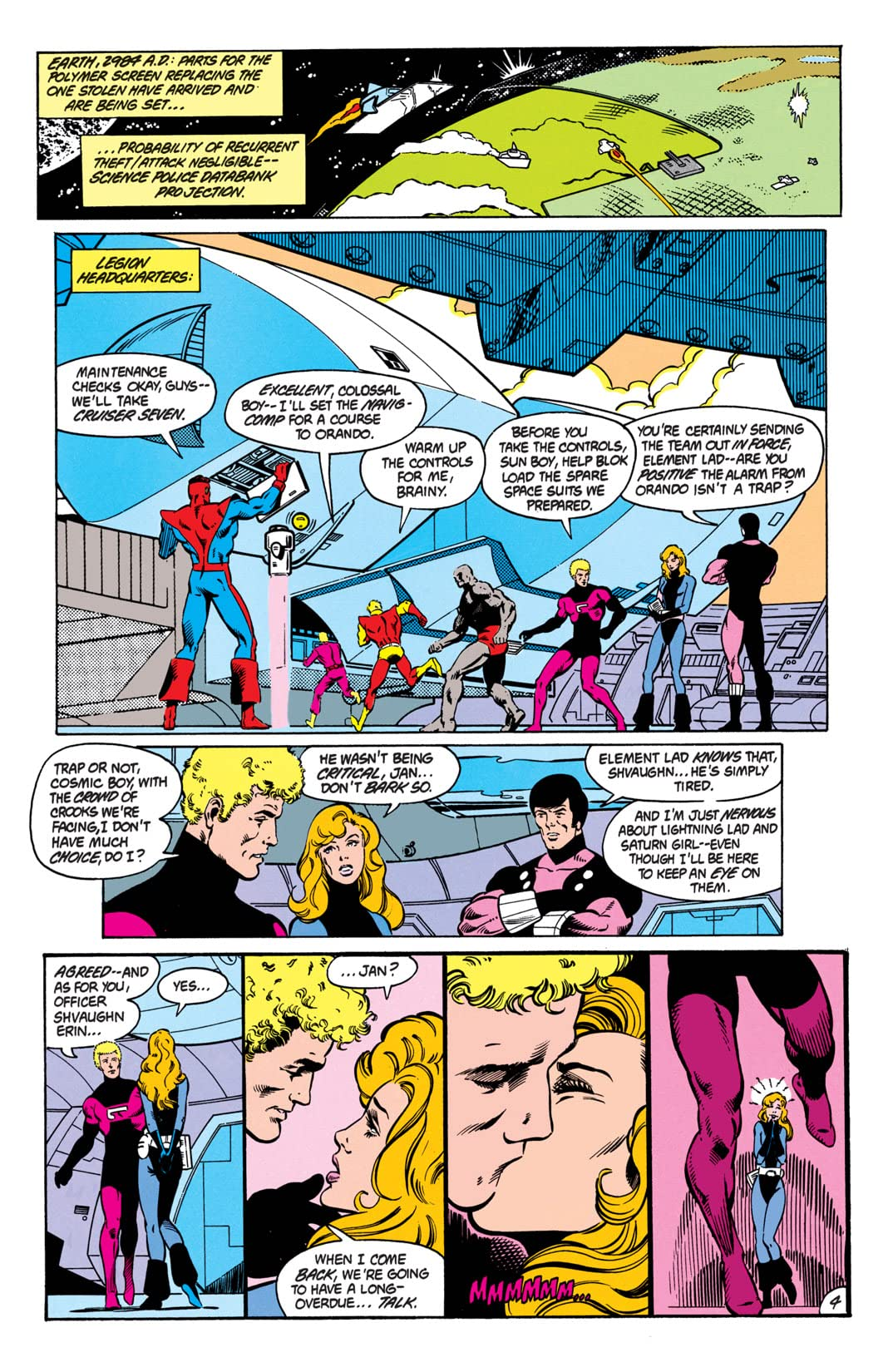 Legion of Super-Heroes (1984-1989) #3