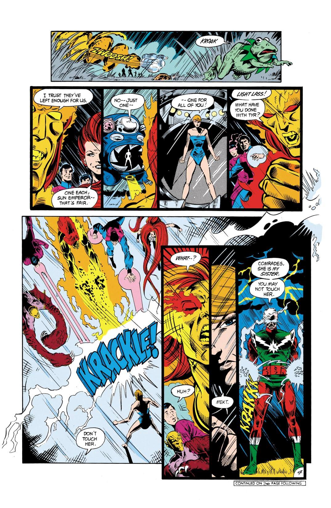 Legion of Super-Heroes (1984-1989) #5