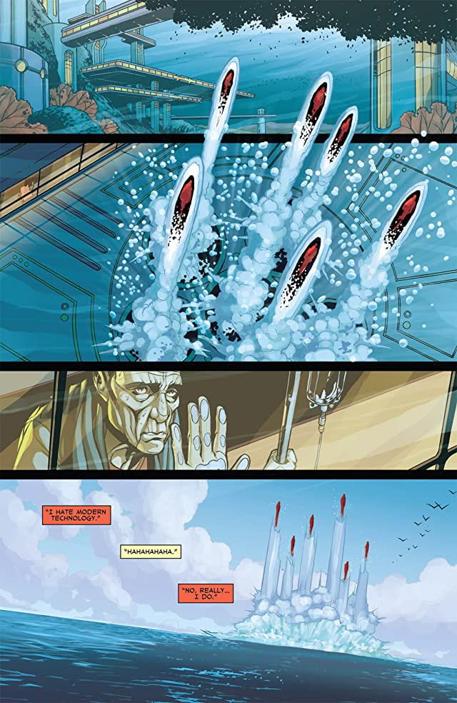 click for super-sized previews of Iron Age: Alpha #1