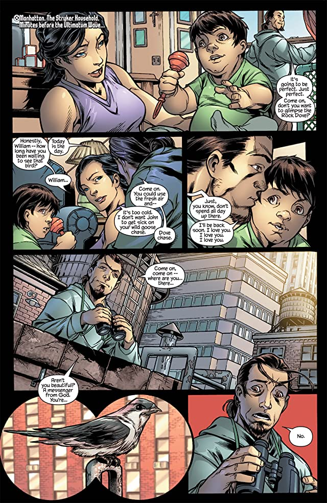 click for super-sized previews of Ultimate X-Men #98