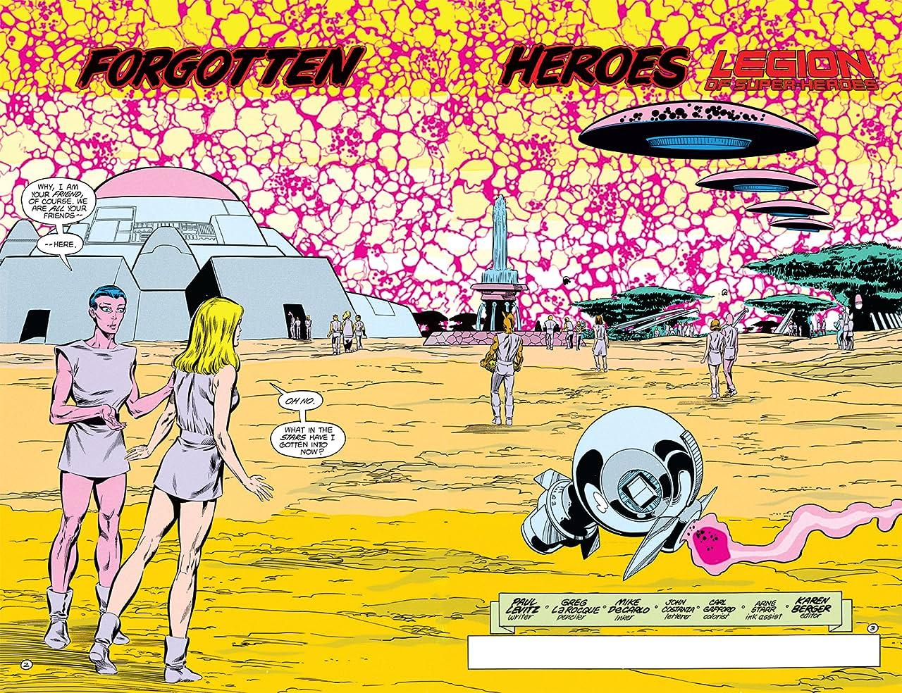 Legion of Super-Heroes (1984-1989) #32